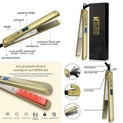 Kipozi 1 Inch Pro Nano-Titanium Flat Iron,450F Salon High He