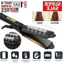 2020 Ceramic Tourmaline Ionic Flat Iron Hair Straightener Pr