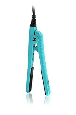 "Brilliance New york Women's Flat Iron 0.5"" Mini, Turquoise"