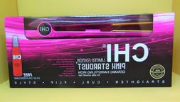 """CHI Pink Stardust Limited Edition Ceramic Hair Styling 1"""" Fl"""