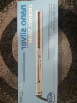 "Conair Pro 1-1/2"" Nano silver 450° Ceramic Hair Styling Str"