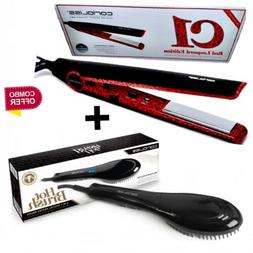 Corioliss C1 Hair Straightener  Flat Iron  + Hair Straighten