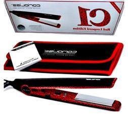 Corioliss Red Leopard C1 Flat Iron/Hair Straightener + Digit