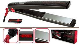 HAIRART iTech Titanium Digital Keratin Heat 1 inch Flat Iron