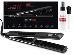 HSI Professional Glider Steamer Ceramic Flat Iron | Dispense