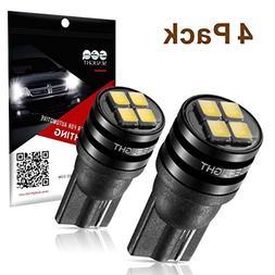 SEALIGHT 194 LED Light Bulb 6000K 168 T10 2825 SMD LED Repla