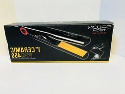 "Salon Tech 1"" Ceramic Pro 450 Flat Straightening Iron"