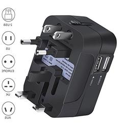 Airfrey Travel Adapter Worldwide All in One Universal Power