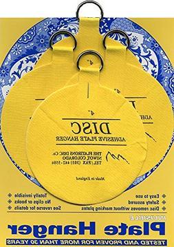 Flatirons Disc Adhesive Large Plate Hanger Set