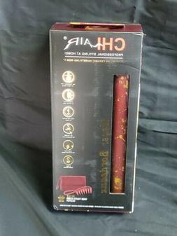 "CHI Air Tourmaline Ceramic Hairstyling 1"" Flat Iron CA2275 N"