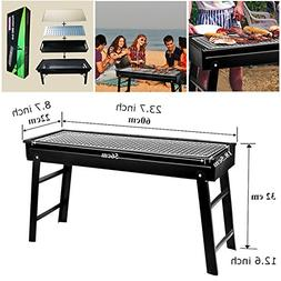CERCHIO BBQ Grill Portable Large Charcoal Barbecue Grills fo