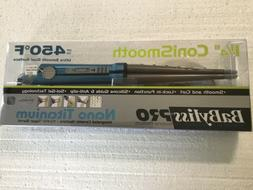"BNIP BaByliss Pro Nano Titanium 1-1/4"" ConiSmooth Taper Barr"