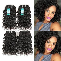 UDU Brazilian Jerry Curly Hair 4 Bundles 50g/pc Short Brazil
