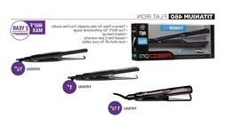 Red Pro KISS Titanium 460 Flat Iron Salon Hair Straightener