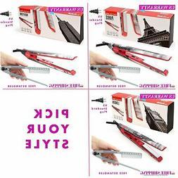 Corioliss C1 Titanium Flat Iron. 1 In. Titanium Plates Hair