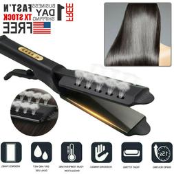 Ceramic Tourmaline Ionic Flat Iron Hair Straightener Profess