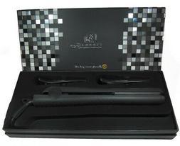 Royale Classic Black Ceramic Flat Iron / Hair Straightener