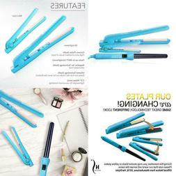 complete flat iron and curling iron set