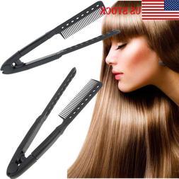 DIY Salon1 Hairdress Styling Hair Straightener V Comb Flat I