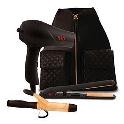 Chi hair dryer/blow dryer, flat iron/straighener, curling ir