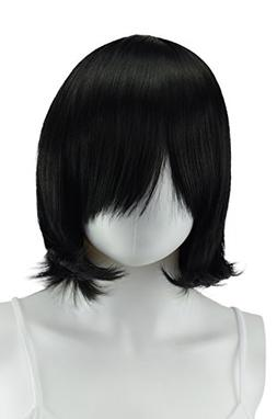 Epic Cosplay Chronos Black Cosplay Wig 14 Inches