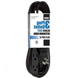25 Ft Extension Cord with 3 Electrical Power Outlet - 16/3 D
