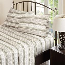 Woolrich Flannel King Bed Sheets, Casual Lodge/Cabin Bed She