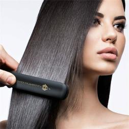 Flat Iron Hair Straightener Salon Steam Professional Tourmal