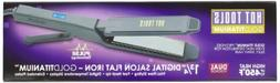 Hot Tools Flat Iron, Scissor Gold Titanium, 1.5 Inch