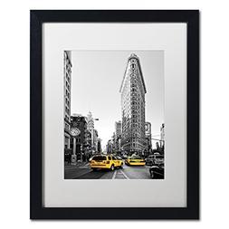 Flatiron Building NYC by Philippe Hugonnard, White Matte, Bl