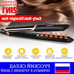 Kemei <font><b>2</b></font> in1 Professional Hair Straighten