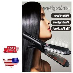 Four-gear Ceramic Tourmaline Ionic Flat Iron Professional Ha
