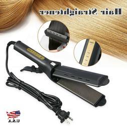 Four-gear Ceramic Tourmaline Ionic Flat Iron Hair Straighten