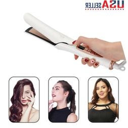 Hair Curling & Straightening Iron Hair Curler Flat Iron Hair