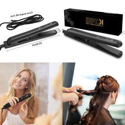 "KIPOZI Hair Straightener 1"" Professional Ceramic Flat Iron W"
