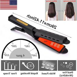 hair straightener flat iron four gear hot