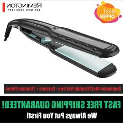 Hair Straightener Flat Iron Remington Wet 2 Straight 2 Inch