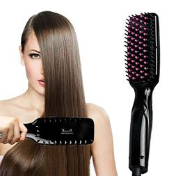 Hair Straightener,Zealite Professional Detangling Hair Brush