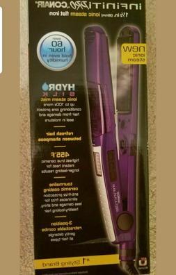 Infiniti Pro by Conair Hydro Silk STS1 Purple Ionic Steam Fl