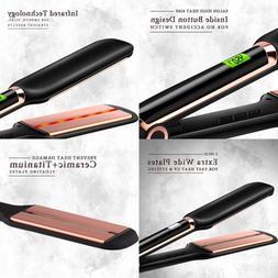 Infrared Flat Iron For Hair DORISILK Professional Ceramic To