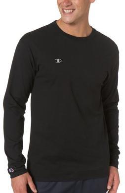 Champion Men's Jersey Long Sleeve T-Shirt, Crimson, XX-Large