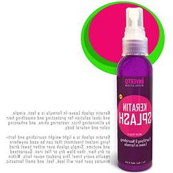 Keratin Splash 4oz Leave-In Formula is a Miracle Serum Fast,