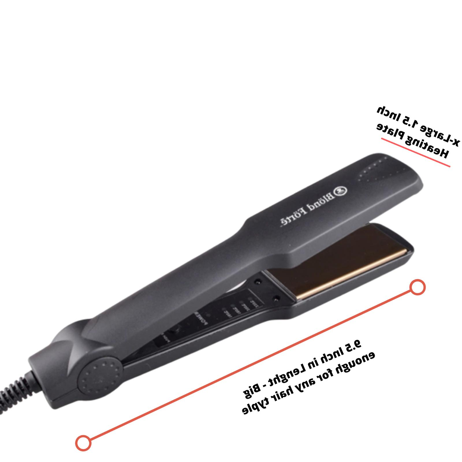 1.5'' Inch Professional Hair Straightener Flat USA
