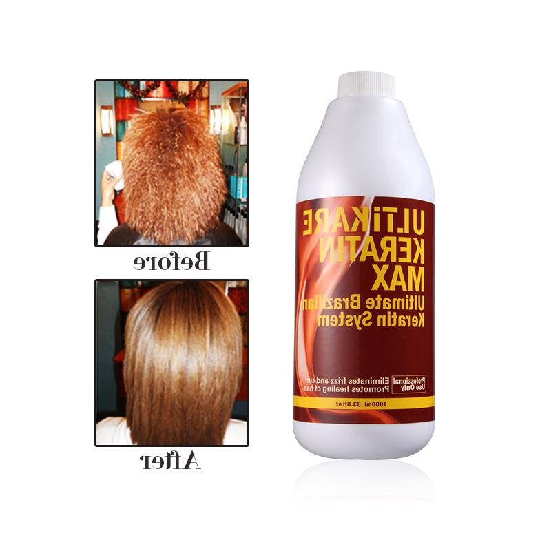 1000ml Chocolate Treatment 8% Keratin Straightening+Hair <font><b>Iron</b></font> Keratin Smoothing