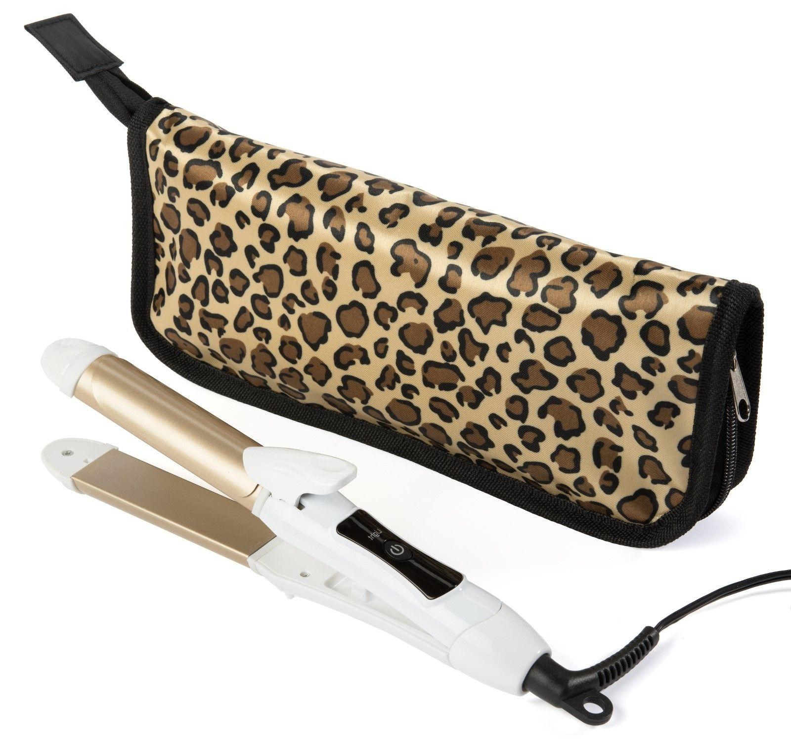 2-in-1 Mini  Straightener Travel Curling /Flat Iron REDUCED
