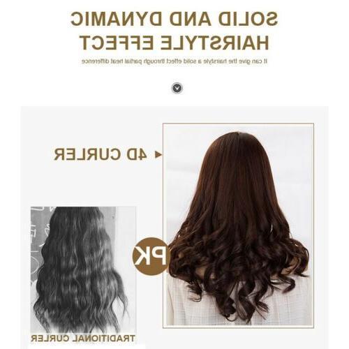 Hair Curling Iron Curler Iron Hair Straightener 2 in