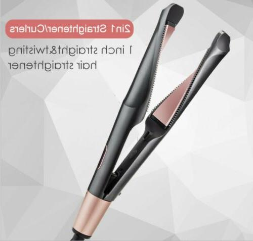 2 1 Hair & Flat Iron + Argan Oil Salon