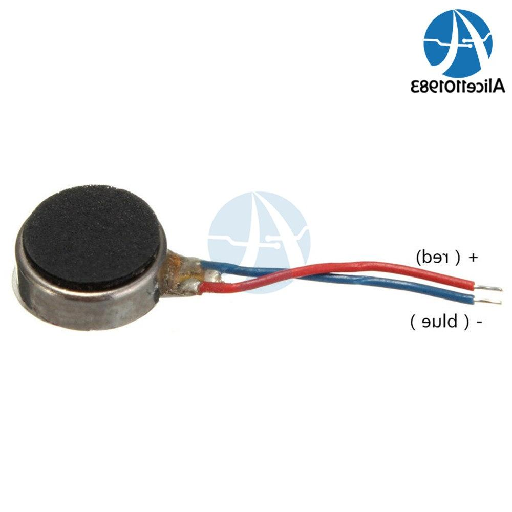 2PCS 0834 <font><b>Flat</b></font> Micro Motor DC 3V Max Pager and Cell 12000RPM Small Size