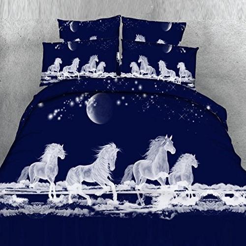 3d unicorn duvet cover set