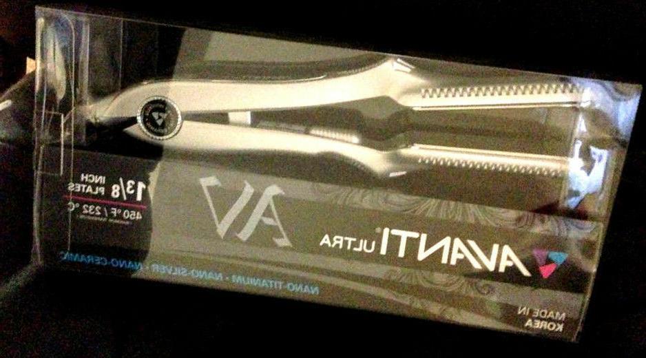 Avanti Ultra Nano Titanium Ceramic Digital Flat Iron Hair St